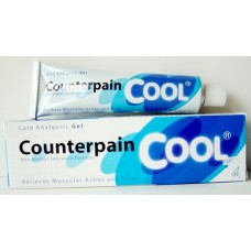 Counterpain Cool gel analgésicos 6 x 120 gramos