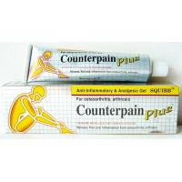 Counterpain Plus Analgesico Gel 6 x 50 Grammi