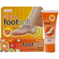 Nanomed Finale footsoft cream repair craked heels