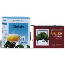 Ginkgo té de hierbas